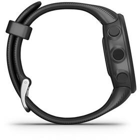 Garmin Forerunner 45S Running Watch with Silicone Band 18mm, black